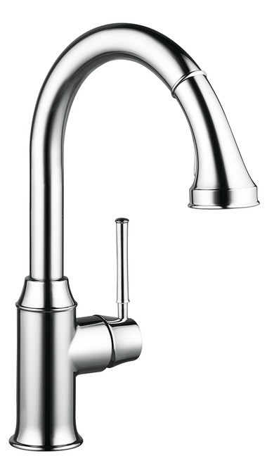 Talis C 2-Spray Higharc Kitchen Faucet Pull-Down 1.75 Gpm
