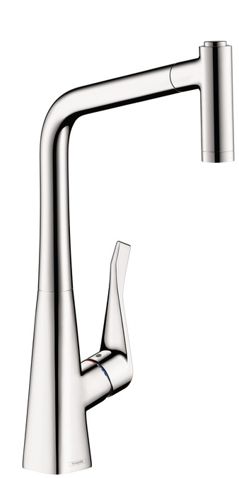 Metris 2-Spray Higharc Kitchen Faucet Pull-Out 1.75 Gpm