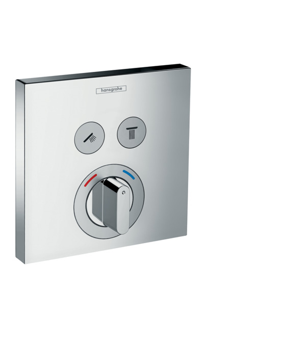 Showerselect Mixer For Concealed Installation For 2 Functions