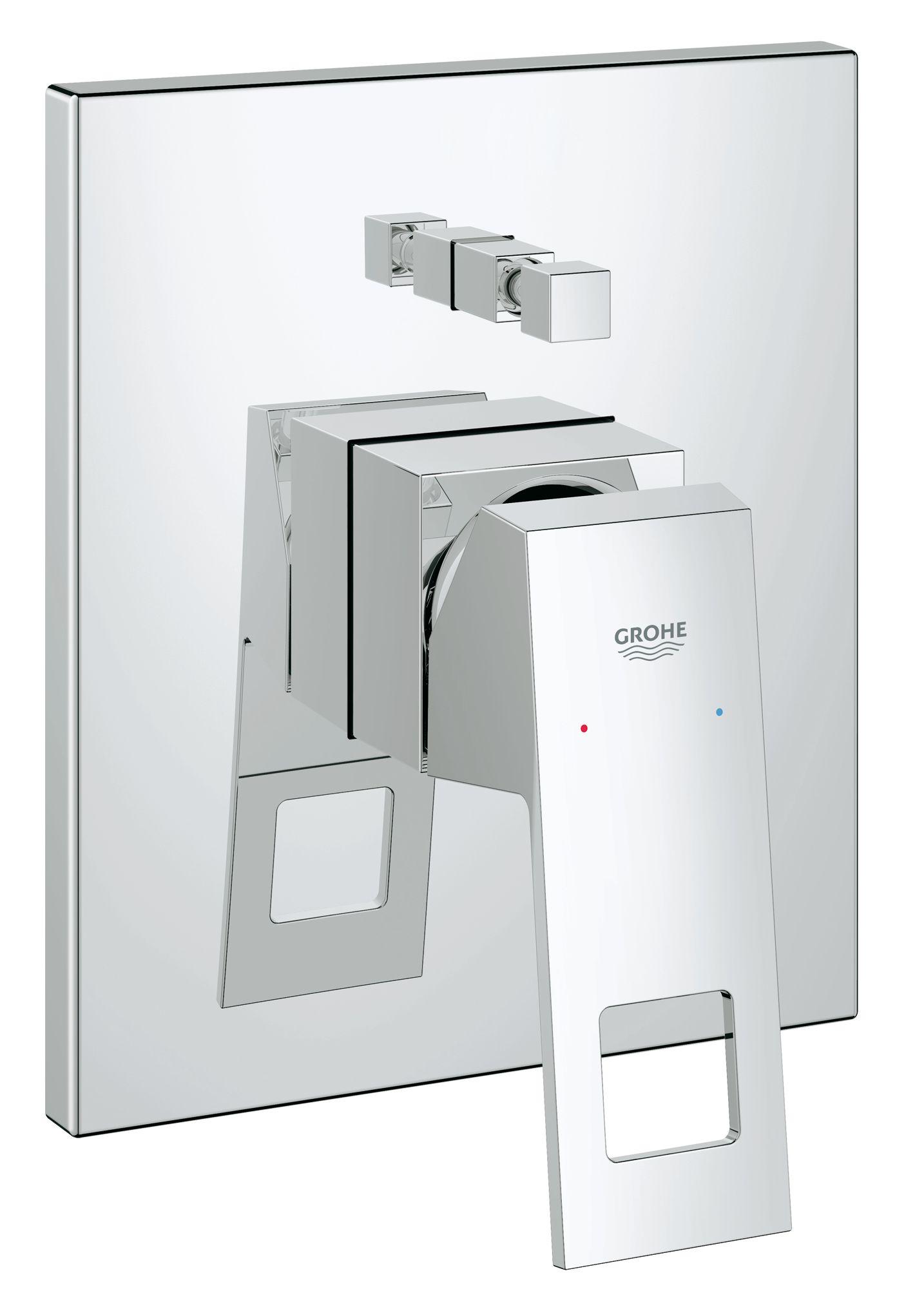 Eurocube Single-lever bath/shower mixer