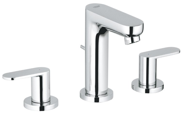 Eurosmart Cosmopolitan 3-hole basin mixer S-Size
