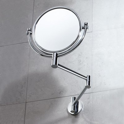 Wall magnifying or not magnifying mirror 23.5x34x26_cm