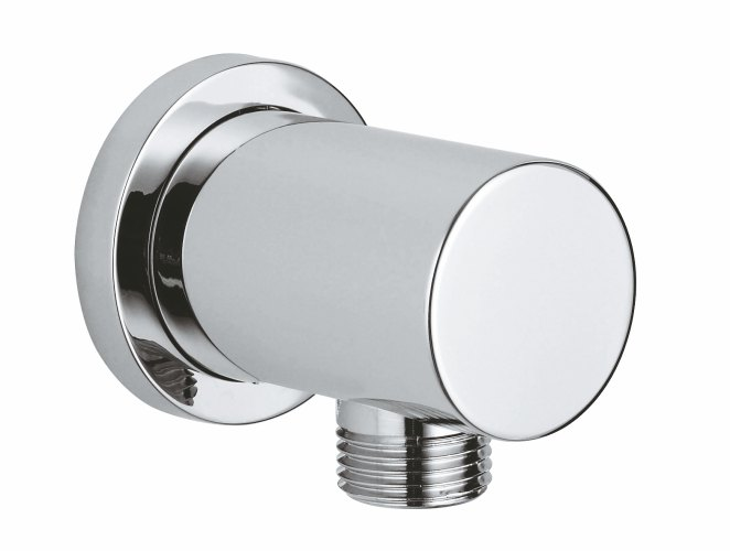 "Rsh Wall Union 1/2"", With Round Collar"