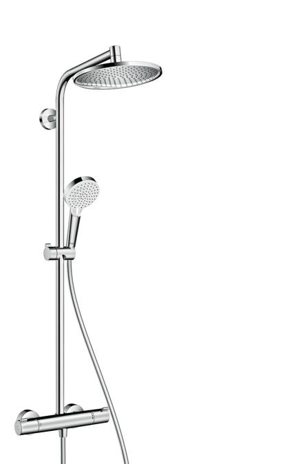 Crometta S 240 1Jet Showerpipe