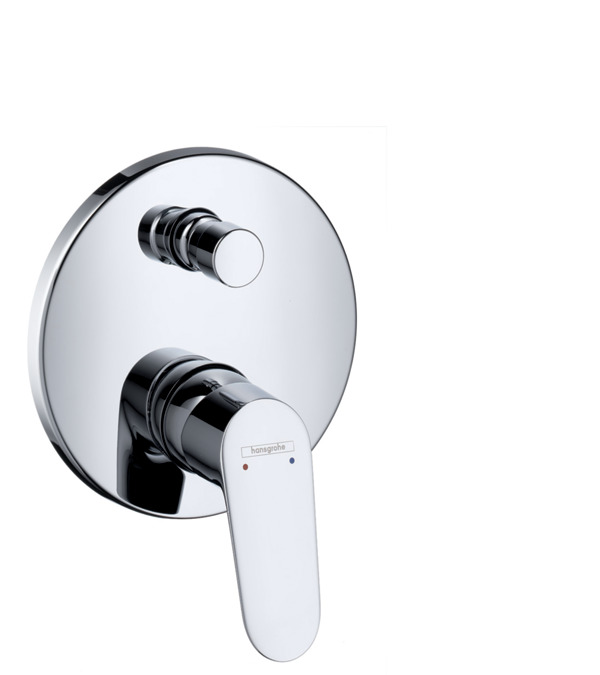 Focus Single Lever Bath Mixer For Concealed Installation
