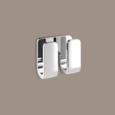OUTLINE Double Towel Hook 8.4x4.6x7cm