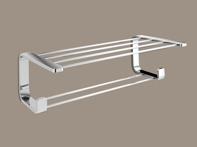 OUTLINE Double shelf for towels 50x26x14cm