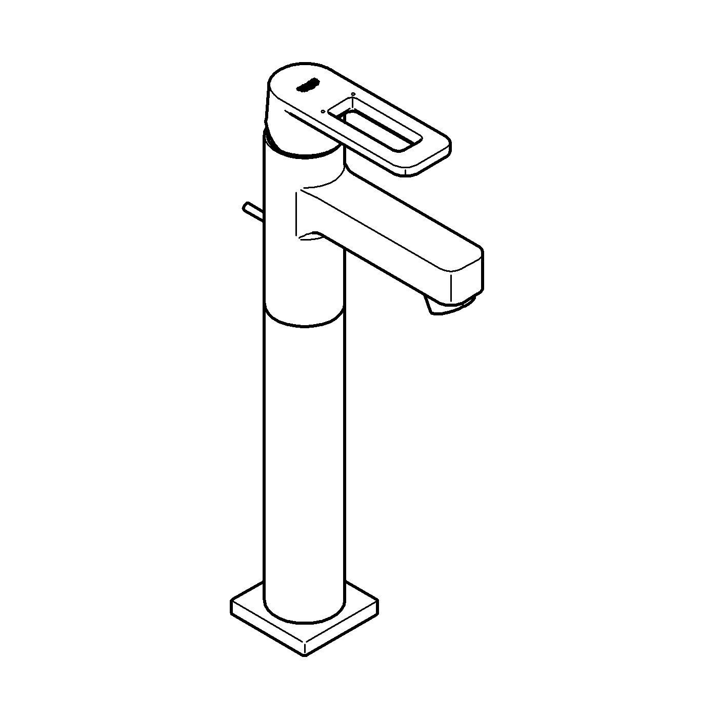 Quadra Single-lever basin mixer 1/2_ XL-Size