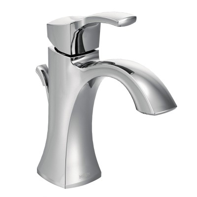 Voss Chrome One-Handle High Arc Bathroom Faucet
