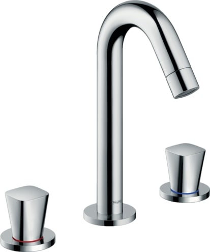 Logis 3-hole basin mixer