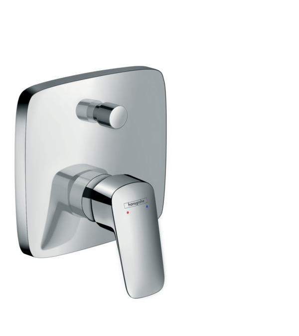 Logis Single Lever Bath Mixer For Concealed Installation