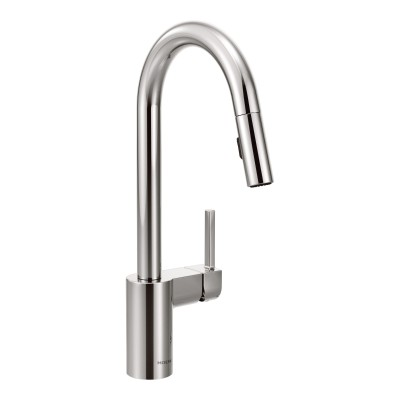 Align Chrome One-Handle High Arc Pulldown Kitchen Faucet