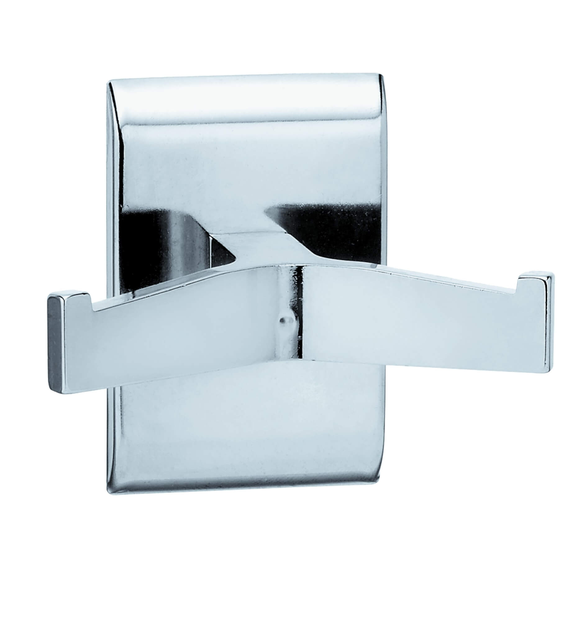 Robe Hook, Double, Chrome Plated�