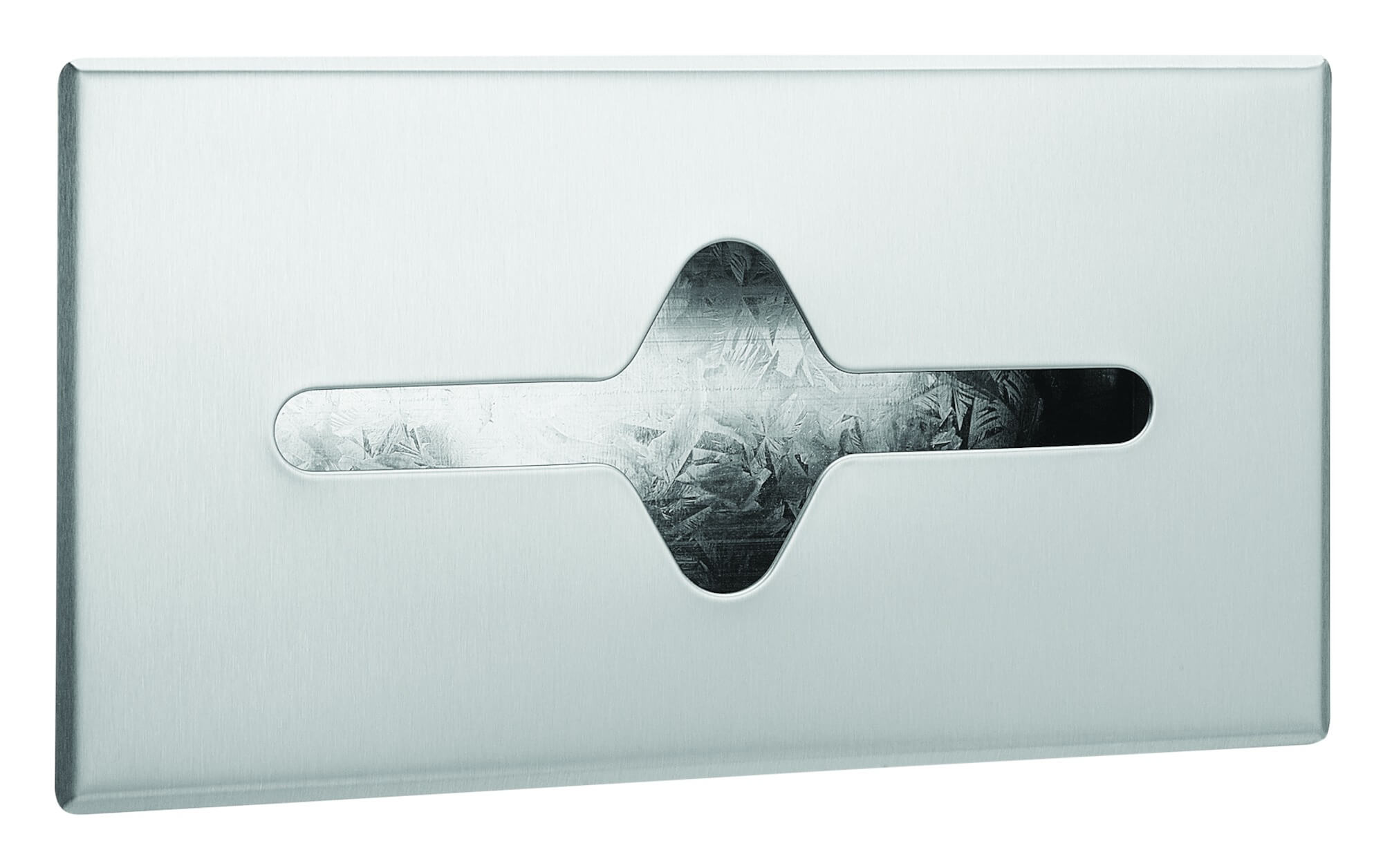 Facial Tissue Dispenser, Recessed