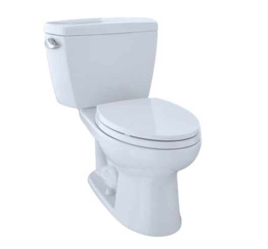 Drake Two-Piece Toilet 1.6 Gpf Elongated Bowl - Cefiontect