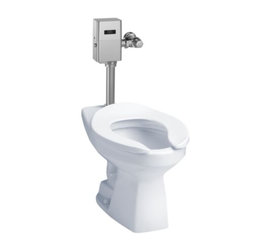 Commercial Flushometer High Efficiency Toilet 1.28 Gpf Elongated Bowl - Cefiontect