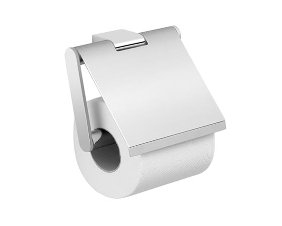 CANARIE Toilet paper holder with cover 13.3x3.5x12cm