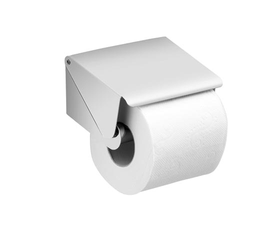 CANARIE Toilet paper holder with cover 13x10.5x13cm