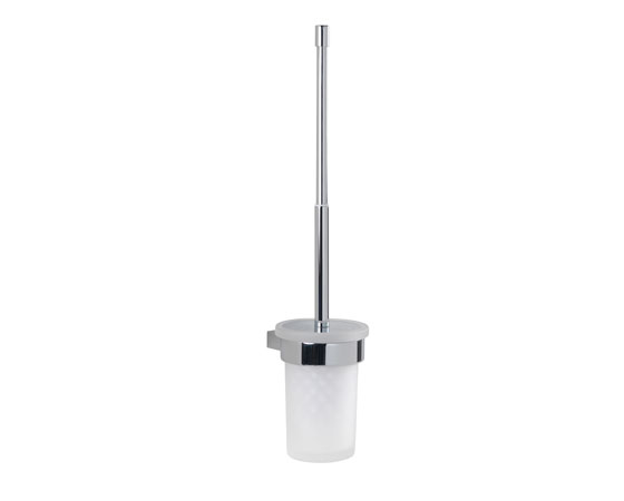 CANARIE Wall toilet brush with bristle brush and telescopic handle 10x12x47cm