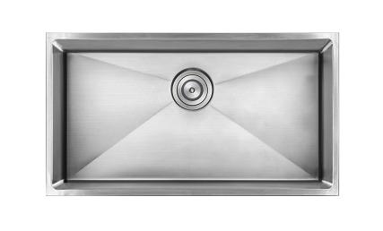 As332 22.81_ X 17.625_ X 9_ 18G Single Bowl Undermount Legend Stainless Steel Kitchen Sink