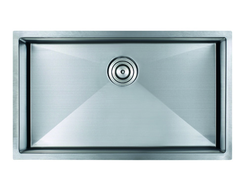 As333 31.25_ X 18_ X 9_  18G  Single Bowl Undermount Legend Stainless Steel Kitchen Sink