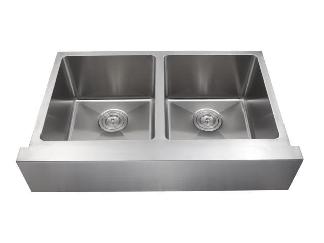 As349 31 X 20 X 9/9 18 Gauge Stainless Steel Farm Undermounted Stainless Steel Sink