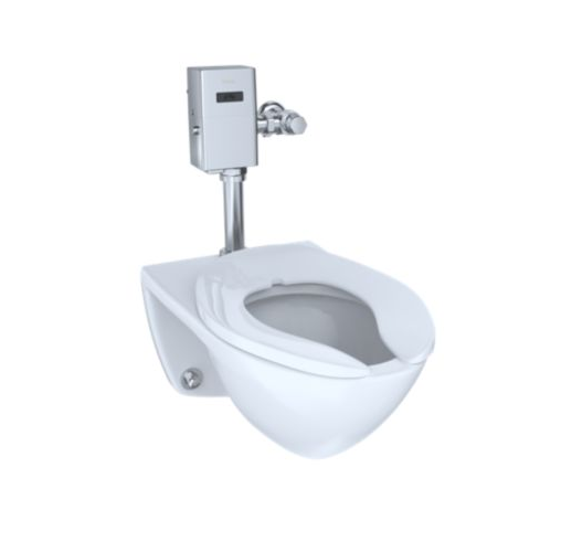 Commercial Ultra-High Efficiency Toilet, 1.0 GPF, Elongated Bowl (Reclaimed Water Option)