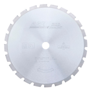 Carbide Tipped Demolition 12 Inch Dia X 24T Ft -15 Deg'' 1 Inch Bore Circular Saw Blade
