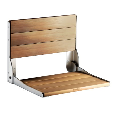 Home Care Teak Folding Shower Seat