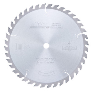 Carbide Tipped General Purpose 10 Inch Dia X 40T Atb'' 15 Deg'' 5/8 Bore Circular Saw Blade