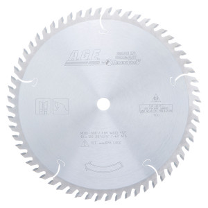 Carbide Tipped Cut-Off & Crosscut 10 Inch Dia X 60T Atb'' 12 Deg'' 5/8 Bore Circular Saw Blade