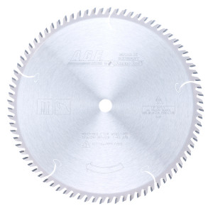 Carbide Tipped Cut-Off & Crosscut 10 Inch Dia X 80T Atb'' 10 Deg'' 5/8 Bore Circular Saw Blade