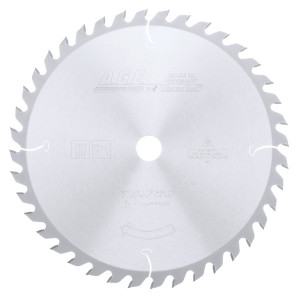 Carbide Tipped General Purpose 12 Inch Dia X 40T Atb'' 10 Deg'' 1 Inch Bore Circular Saw Blade