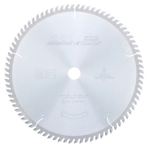 Carbide Tipped Cut-Off & Crosscut 12 Inch Dia X 80T Atb'' 10 Deg'' 1 Inch Bore Circular Saw Blade
