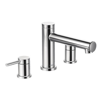 Align Chrome Two-Handle Non Diverter Roman Tub Faucet