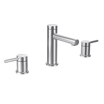 Align Chrome Two-Handle High Arc Bathroom Faucet