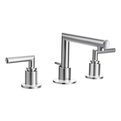 Arris Two-Handle Widespread Bathroom Faucet Chrome