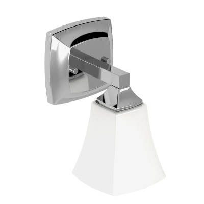 Voss Chrome One Globe Bath Light
